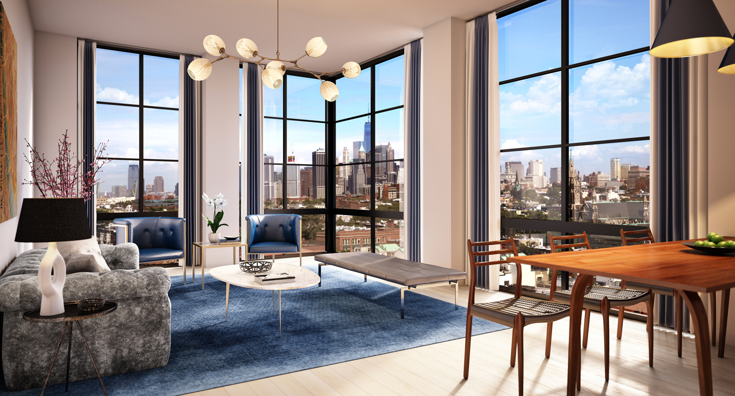 brooklyn luxury apartments for rent 365 bond building