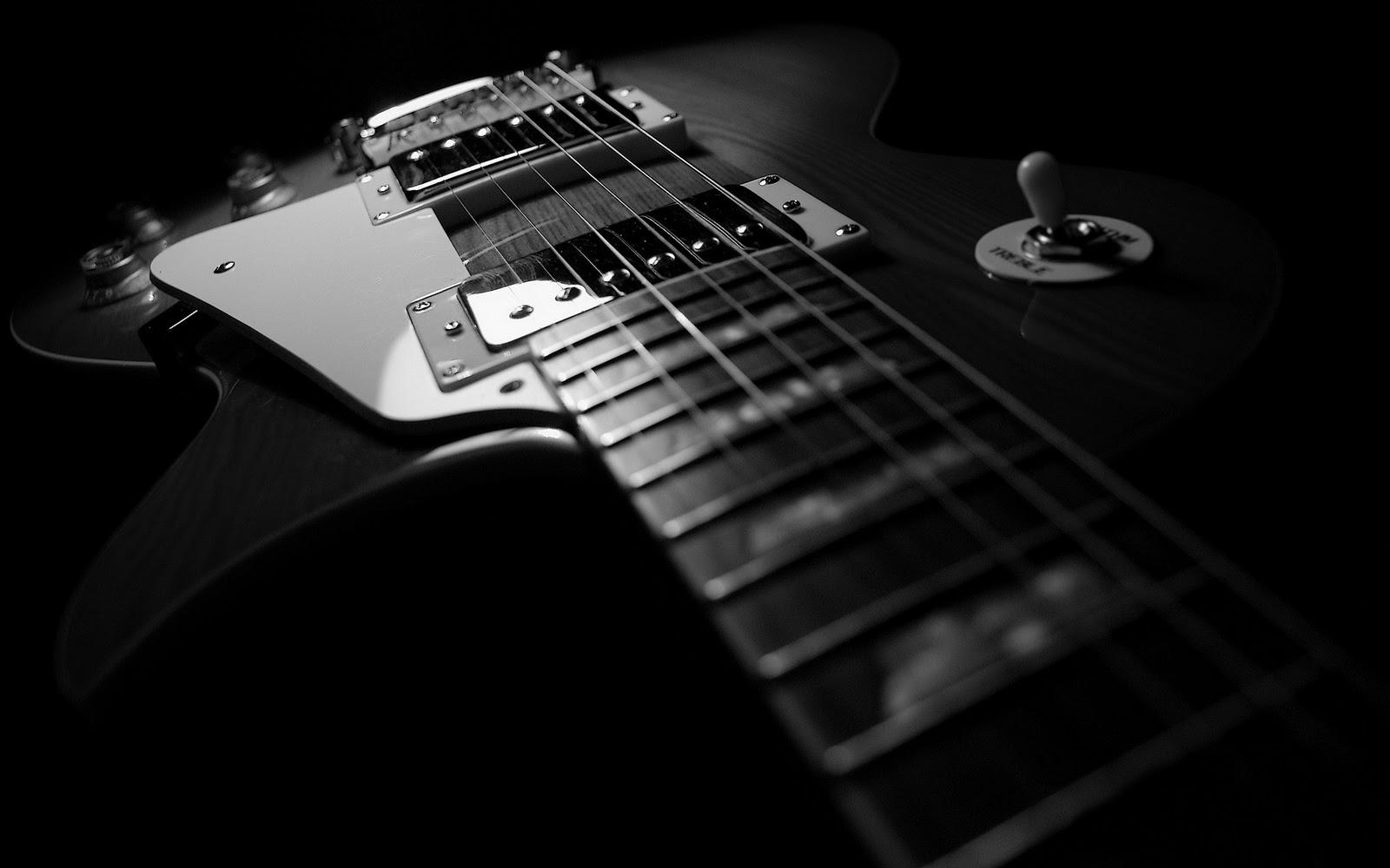 Black And White Gibson Les Paul Guitar Hd Guitar Music Desktop Wallpaper 1920x1200 Great Guitar Sound Www Greatguitarsound Blogspot Com 365 Bond