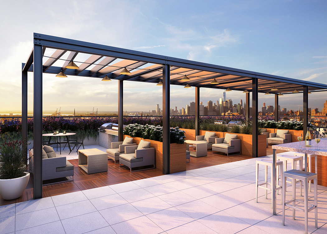 Brooklyn luxury apartments for rent 365 bond building for Terrace building
