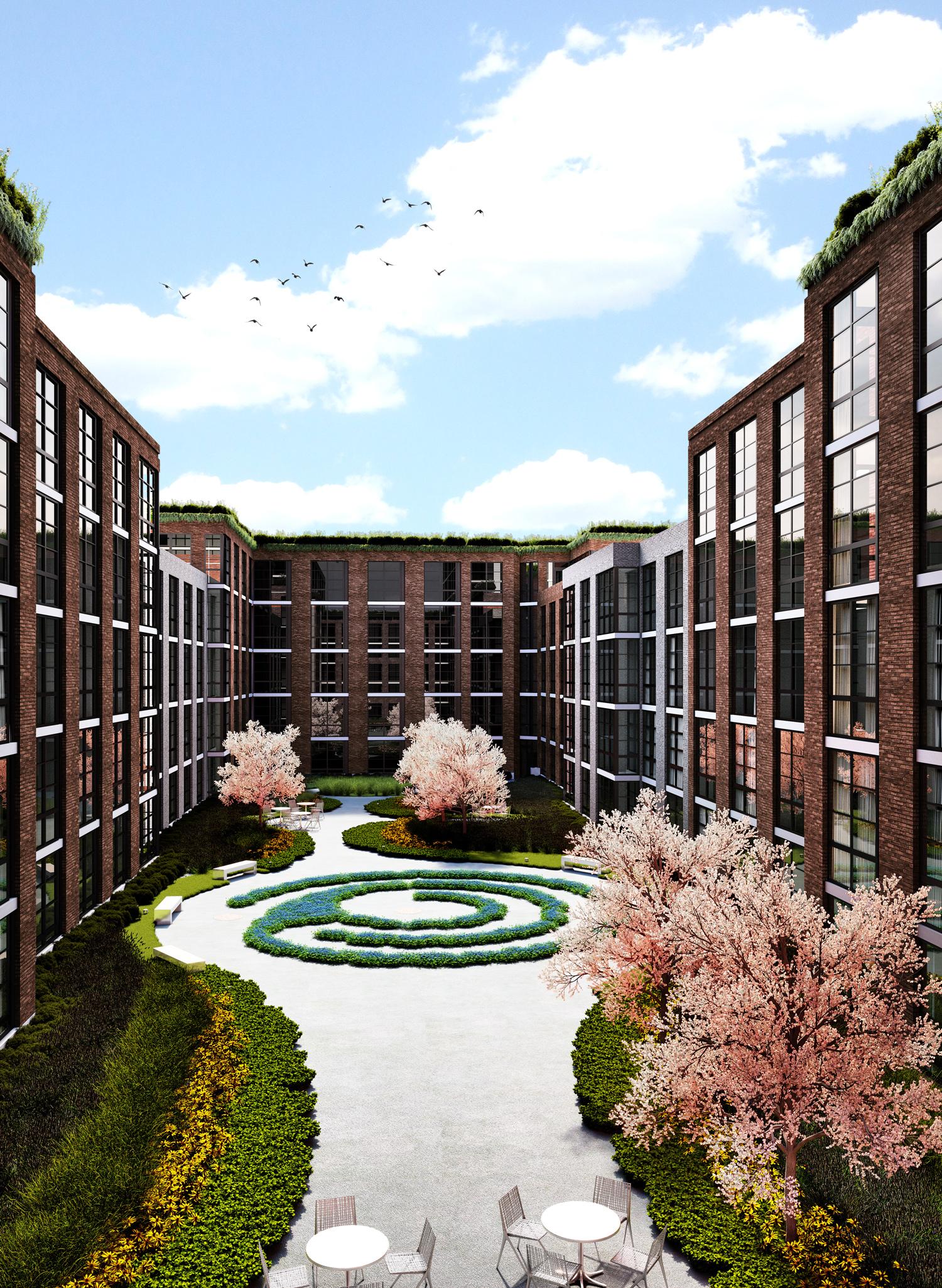 Rooftop Garden Terrace Apartments